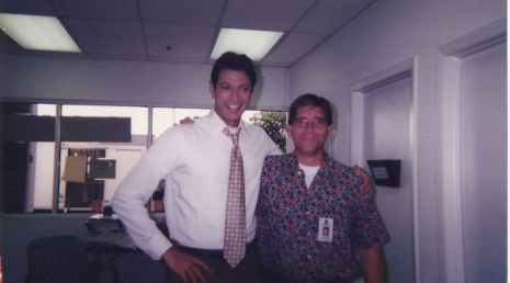 """with Jeff Goldblum, from the 1998 movie """"THE HOLY MAN"""""""
